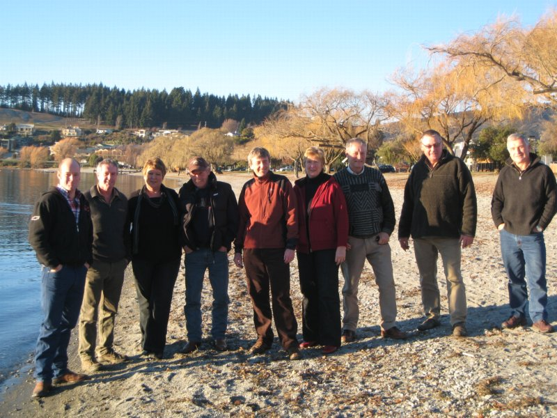 Trail bosses meeting in Lake Wanaka